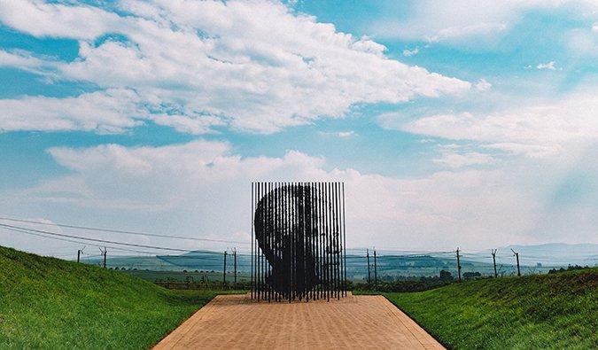 Monument Nelson Mandela en Afrique du Sud
