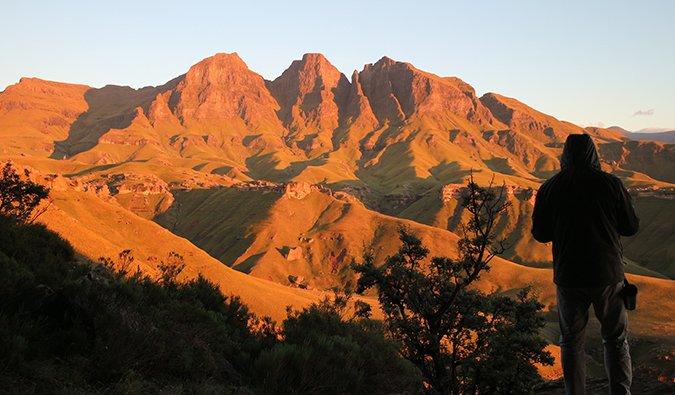 Montagnes du Drakensberg, Afrique du Sud