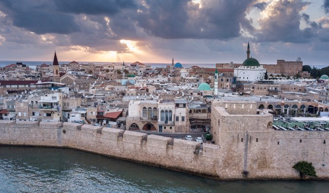 L'ancienne ville d'Acre en Israël