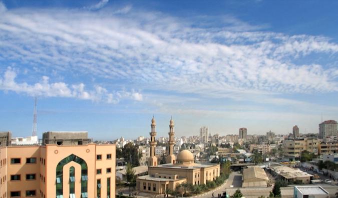La région de Gaza en difficulté en Palestine