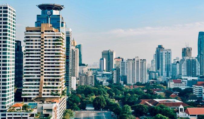 L'horizon de Bangkok, Thaïlande