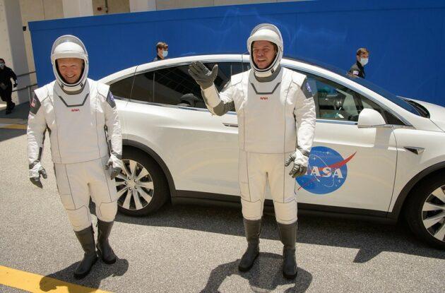 Astronautes en répétition