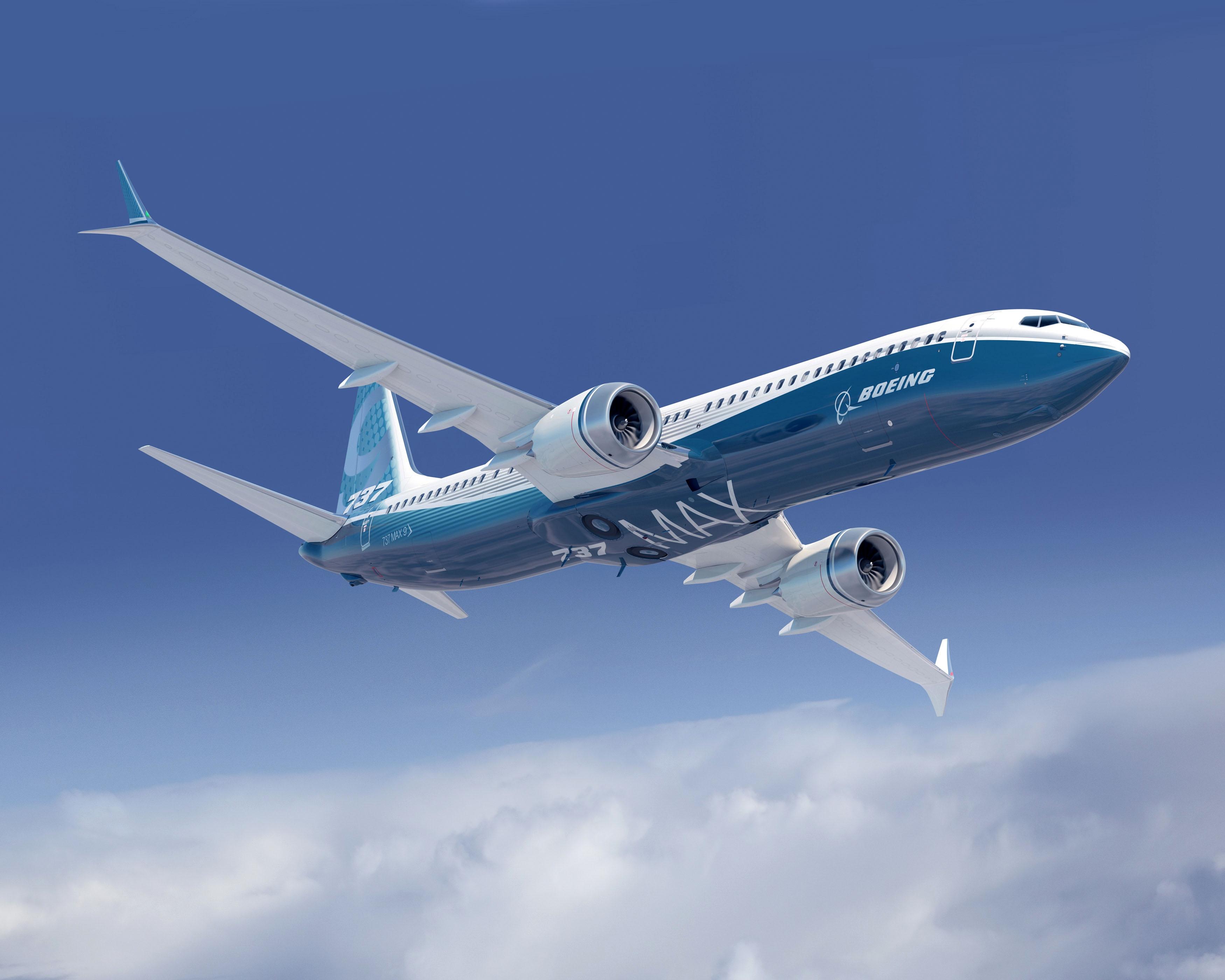 Illustration: Boeing 737 MAX