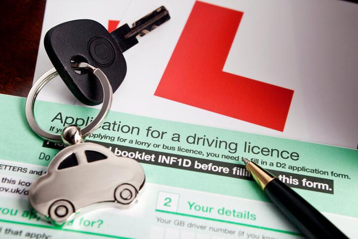 demande de permis de conduire britannique